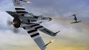 World Wars II Dogfight by archangel72367