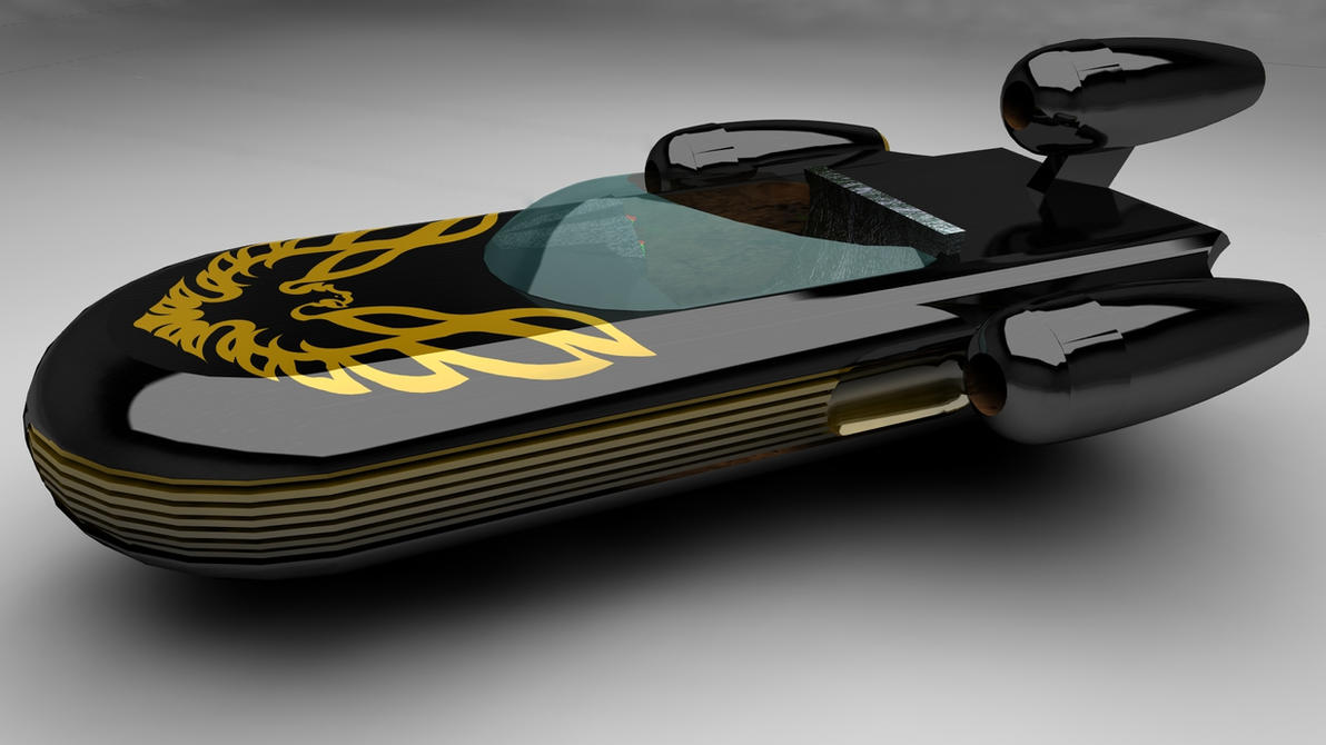 Trans Am Edition Landspeeder by archangel72367