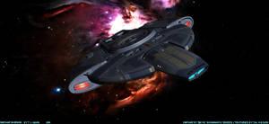 Defiant in Orion by archangel72367