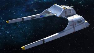 Warpsled Shuttle Starfleet Var by archangel72367