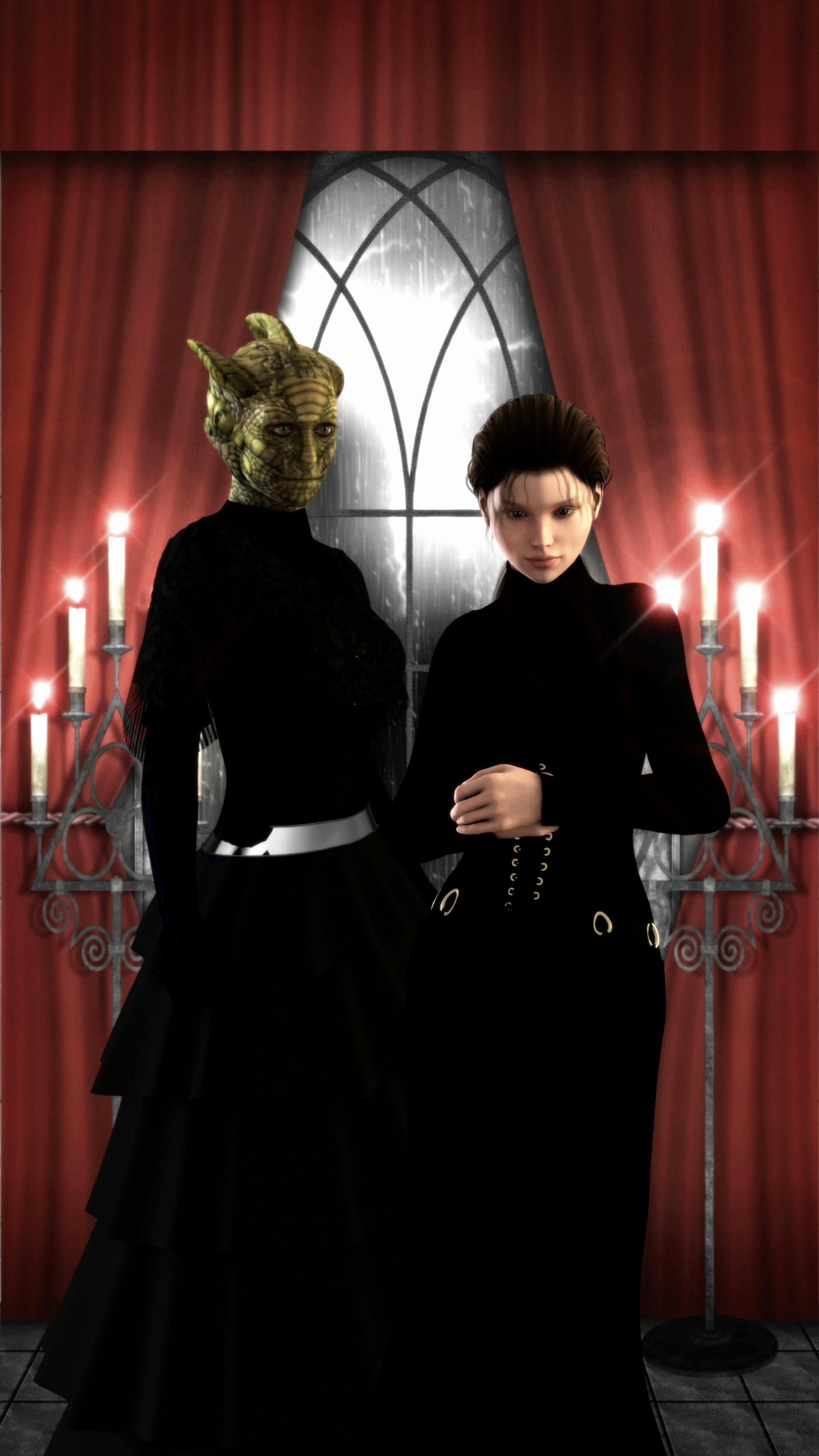 Vastra and Jenny by archangel72367