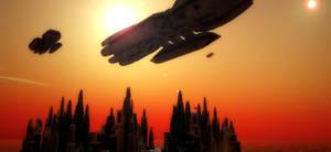 Battlestars in Atmosphere