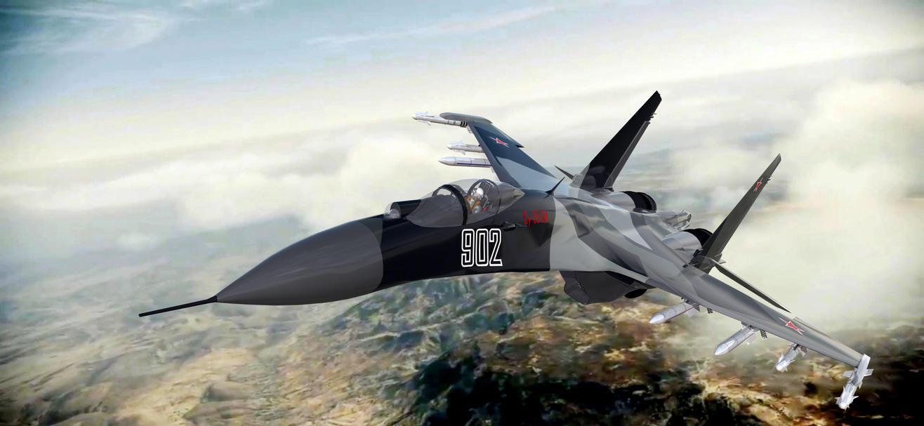 Su-35BM 902 by archangel72367