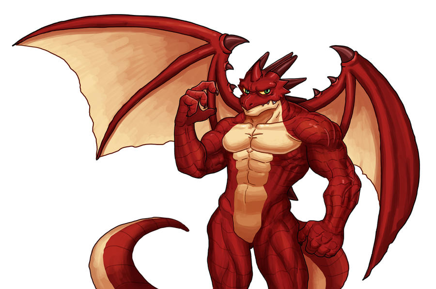 dragon furry by boongar