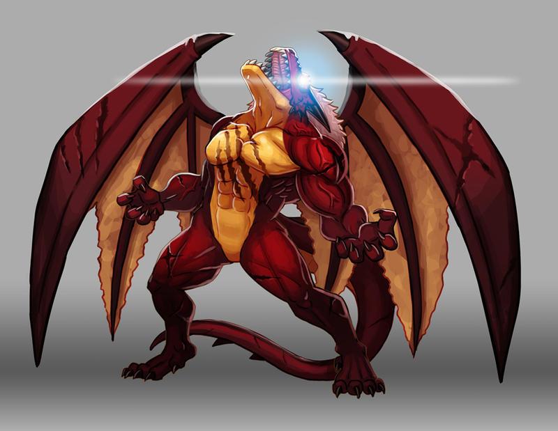 Дракон furry