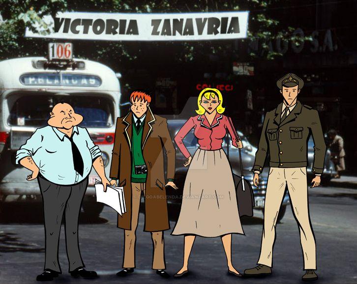 Victoria Zanavria (personajes/characters) by diegoabelenda