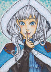 ACEO - Snowy