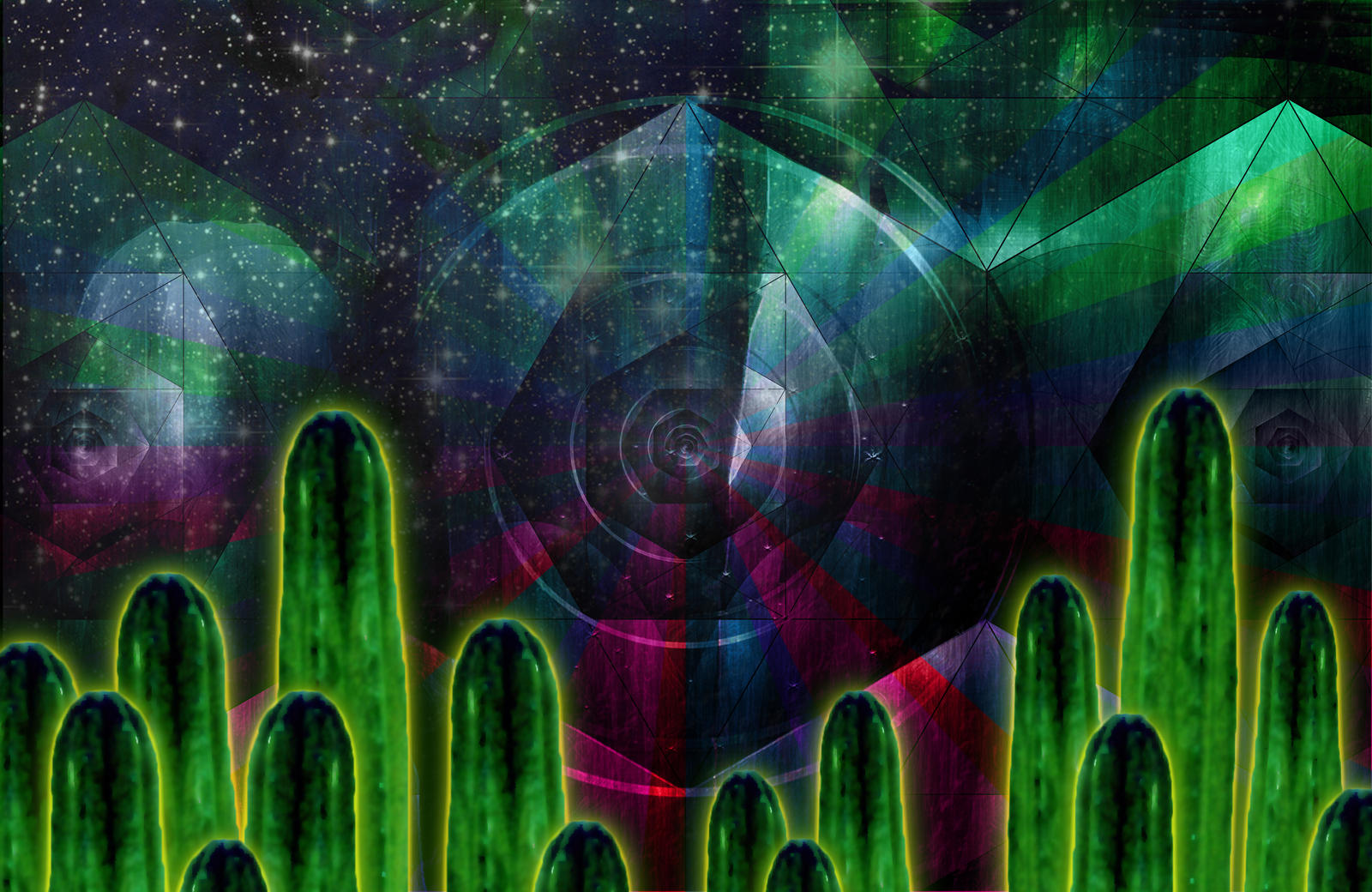 Cactus consciousness by lokispace