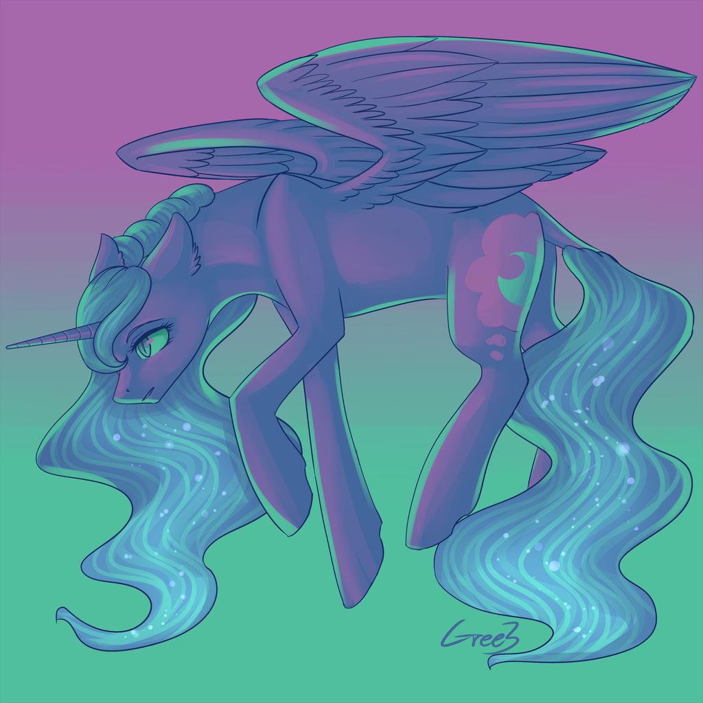 Color Palette Luna by Gree3