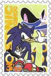 Sonic The Hedgehog-stamp