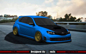 Subaru Impreza WRX STI by en3sDesign