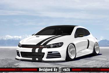 Volkswagen Scirocco R by en3sDesign