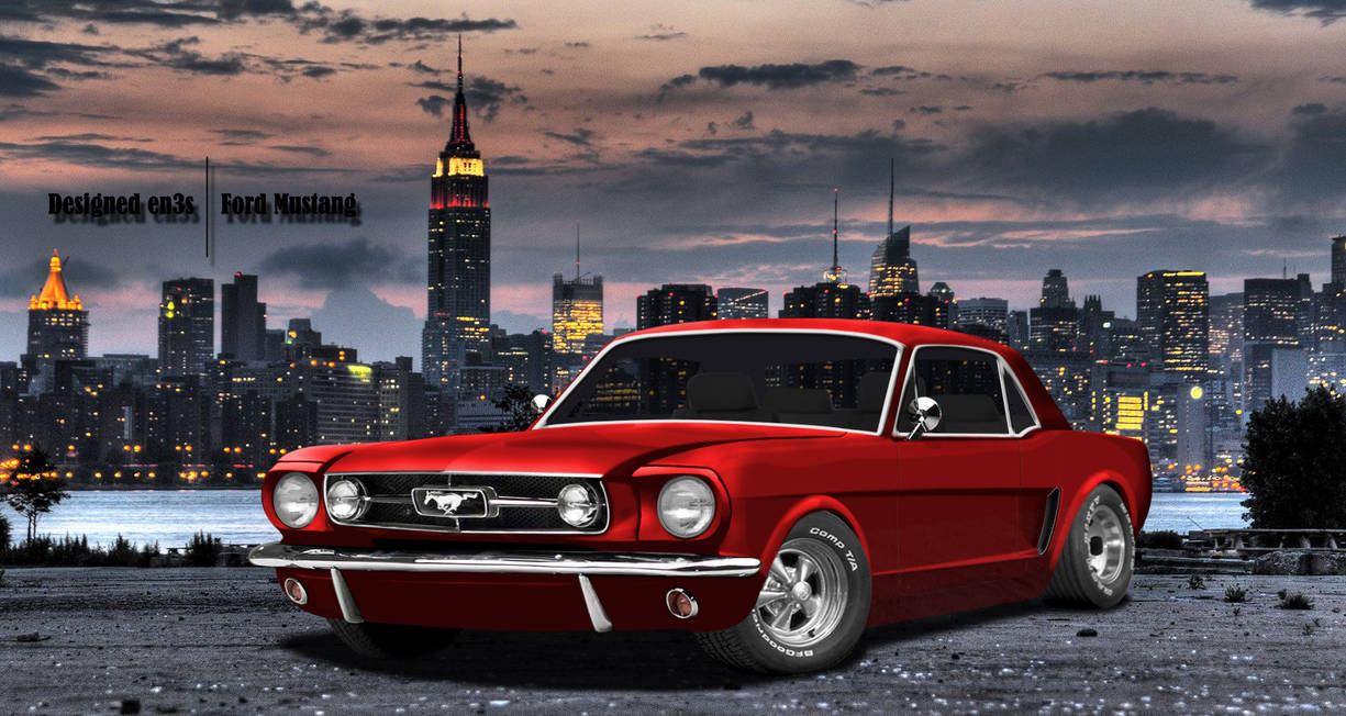 Ford Mustang by en3sDesign