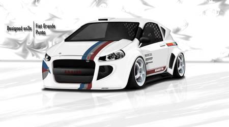 Fiat Grande Punto by en3sDesign