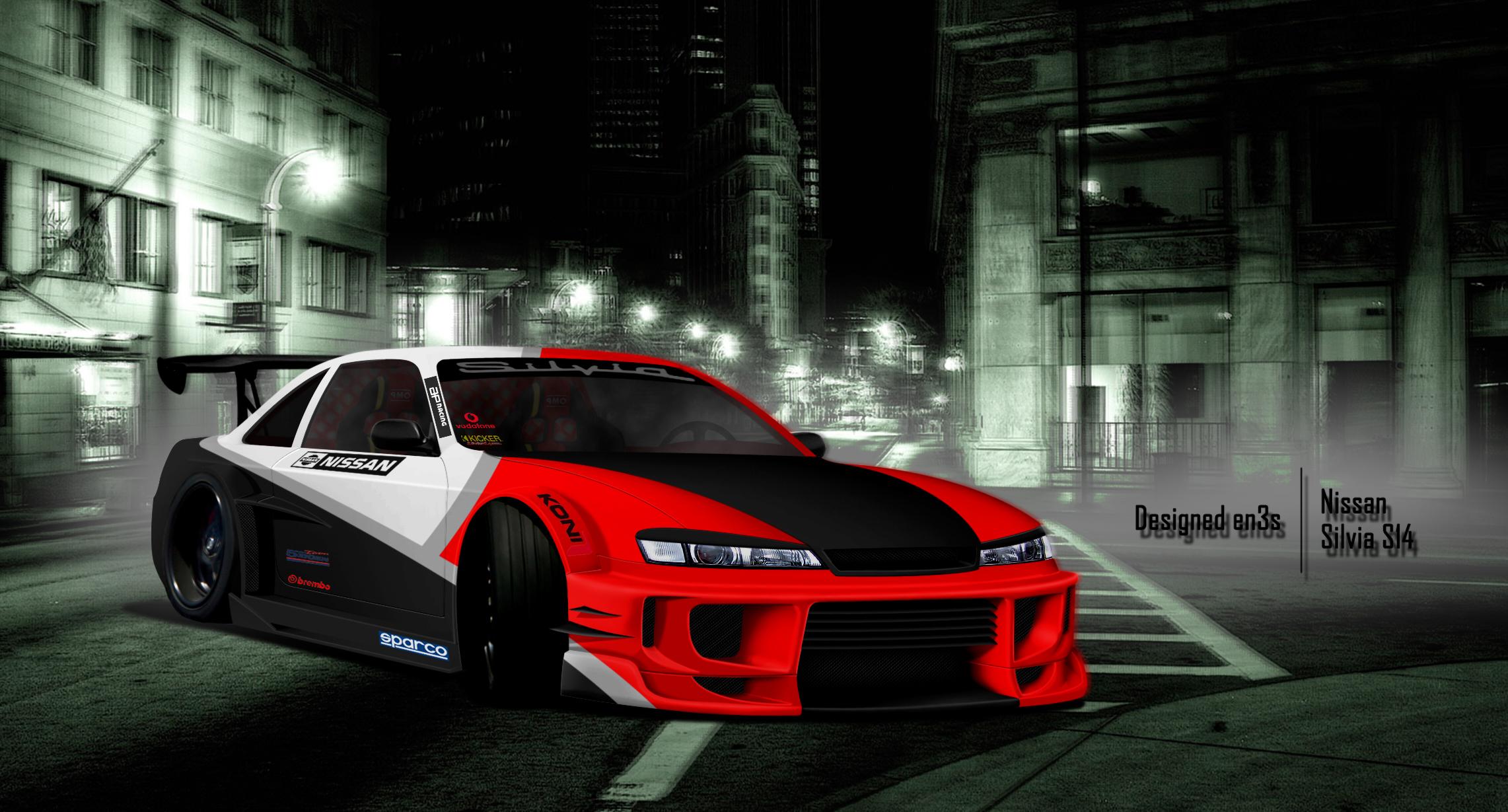 Nissan Silvia S14 by en3sDesign