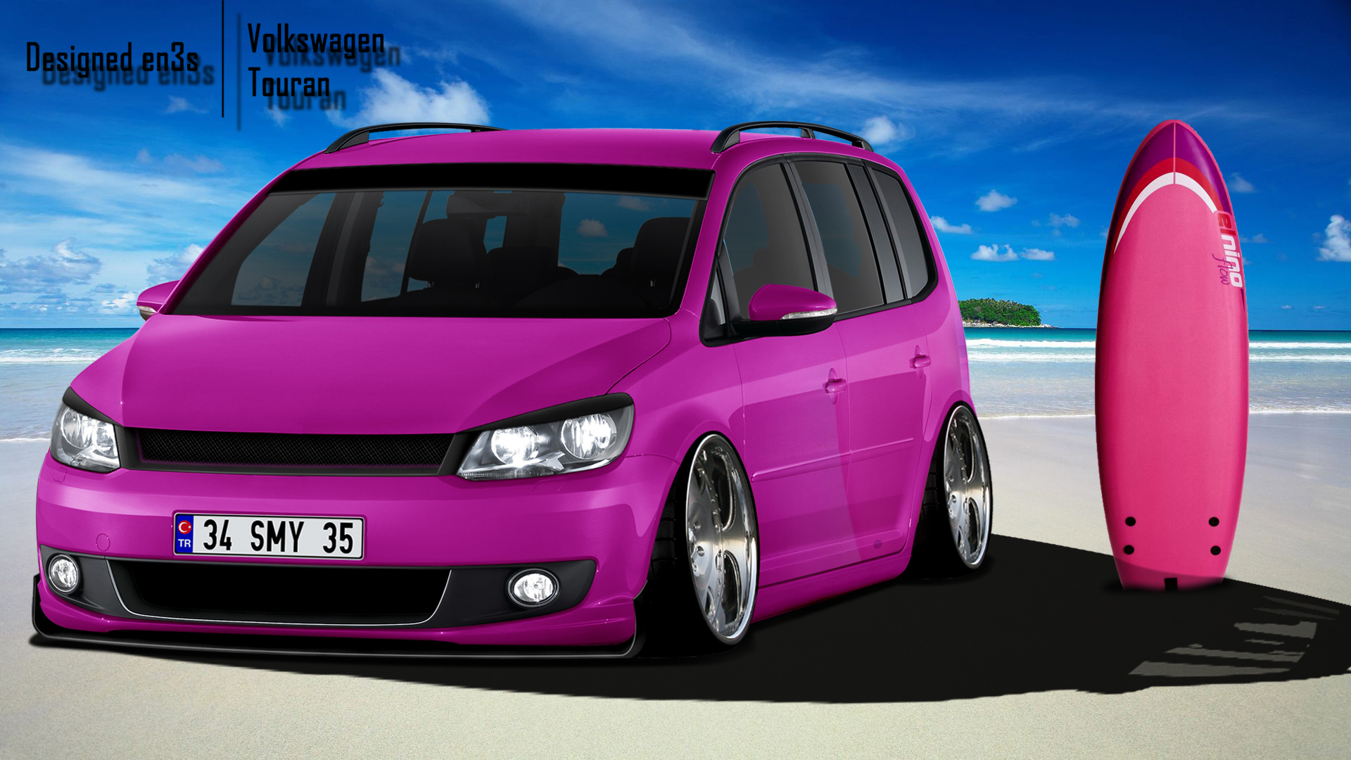 Volkswagen Touran DUB by en3sDesign