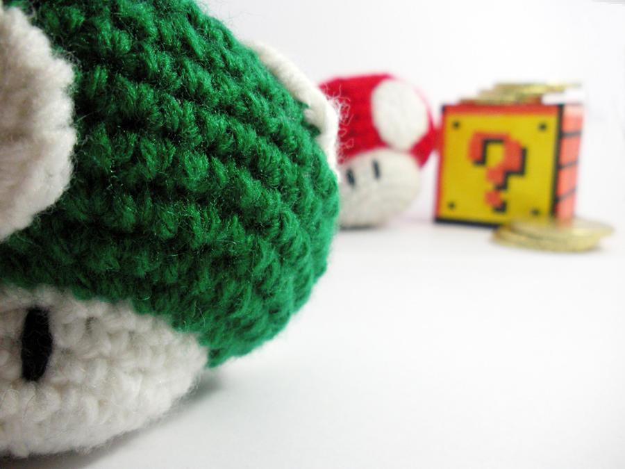 Crochet 1 Up Mario Mushroom By Melibusla On Deviantart