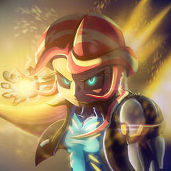 Genoset Charge! by CrunchTheRobot
