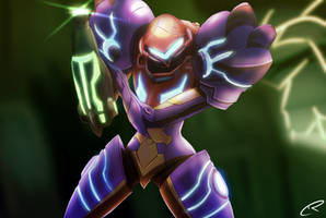 Samus Returns by CrunchTheRobot