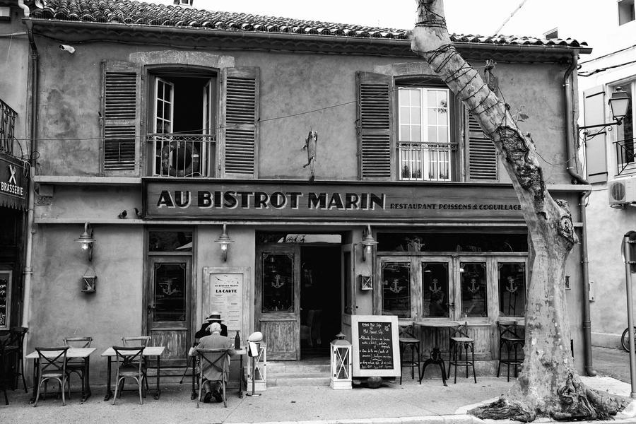 Au Cafe des Jours Heureux... by hosagu