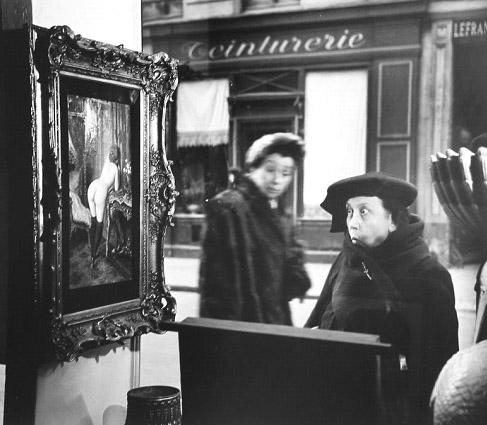 Robert-Doisneau.-Le-Dame-Indignee.-1948. by hosagu