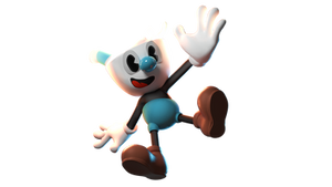 Mugman 3D Render [DOWNLOAD] [RIG] by TheAntitoxic
