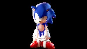 Inspired Toei Sonic 3D Render