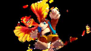 Banjo-Kazooie 3D Render!
