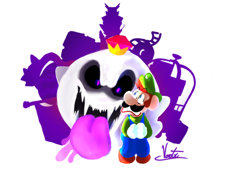 Luigi's Mansion Fanart