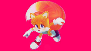 It's Tails in 3D yay