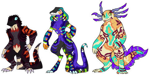Mixed Adoptable Auction 02 - Closed by KnightmareAdopts