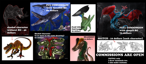 Comission Advertisement (NM) by KnightmareAdopts