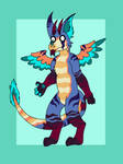 Dutch Angel Dragon Adopt 06 - Open by KnightmareAdopts