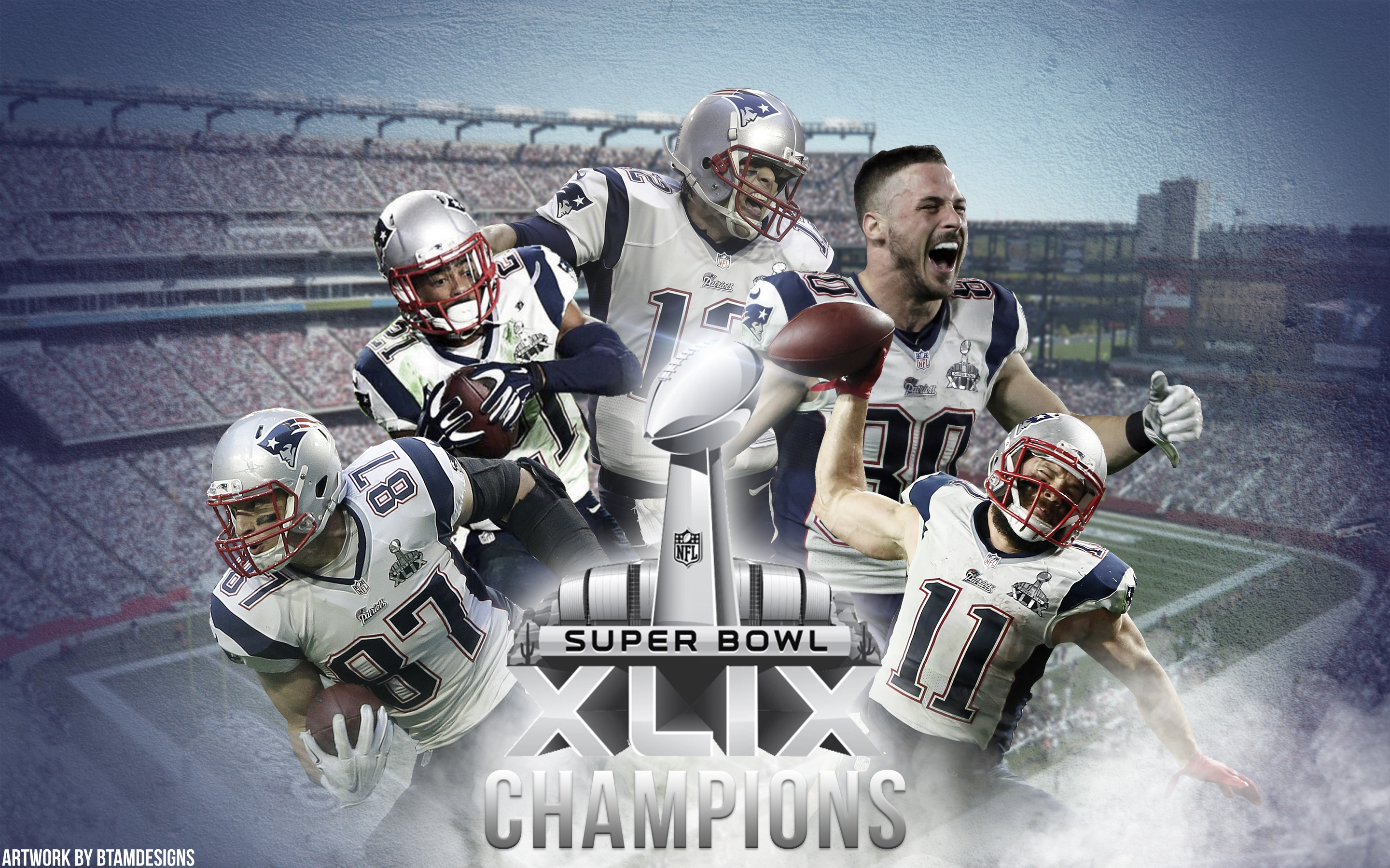 Patriots 'Championship' wallpaper by btamdesigns on DeviantArt
