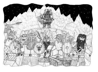 Tales of Grimwood fanart: Bizorns by Dwarf-Cartoonist