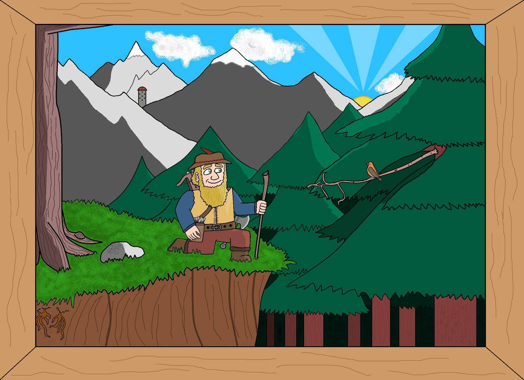 Nederantansie scenes 14: Bors the Wanderer