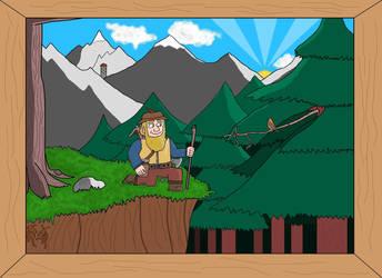 Nederantansie scenes 14: Bors the Wanderer by Dwarf-Cartoonist