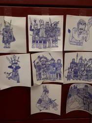 Nederantansie Sketch dump 3: random safe pictures by Dwarf-Cartoonist