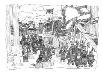 Nederantansie Lore 23: Tundra Dwarves by Dwarf-Cartoonist