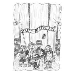 Gift art: Happy birthday, Snowy! by Dwarf-Cartoonist