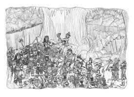 Nederantansie scenes 19: Mole to battle!