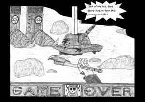 Nederantansie - Game Over screen
