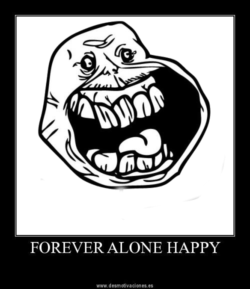 forever alone drawing by - photo #46