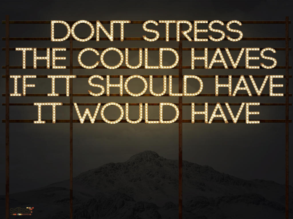 Dont Stress by BlackrystalX