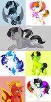 Pony Party by Schokocream