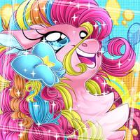 Rainbow Powers Version Pinkie by Schokocream