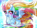 Rainbow Powered Rainbow Dash