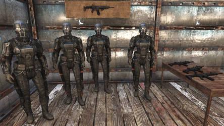 Fallout 4 - Brotherhood of Plastic COLT