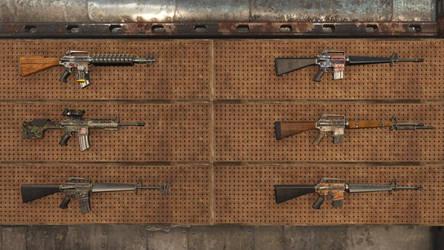 Fallout 4 - Service Rifle Mod - All Unique Weapons
