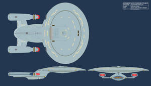 Star Trek TNG - Stellar class heavy cruiser